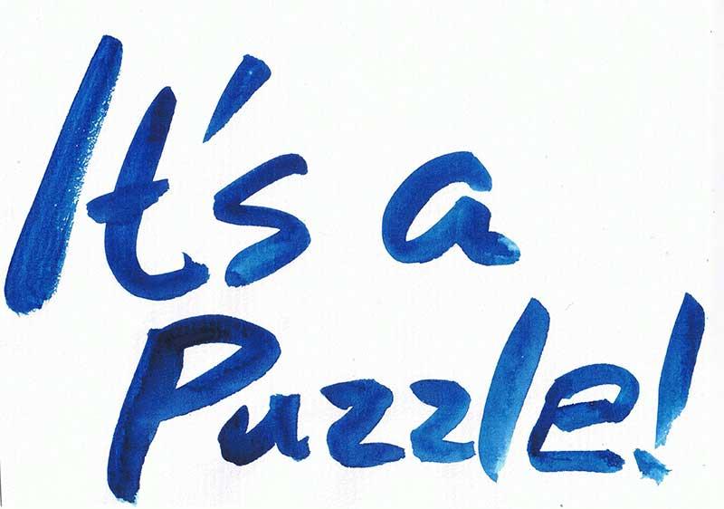 新座右の銘百選 it s a puzzle 京都の税理士早川嘉美 ウォルドルフ